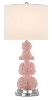 Ms. Poodle Table Lamp - The Phyllis Morris Collection by Currey & Co. Credit - Currey & Co.